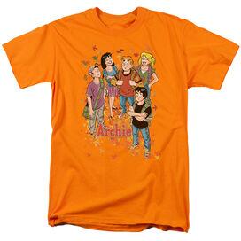 ARCHIE COMICS COLORFUL - S/S ADULT 18/1 - ORANGE T-Shirt