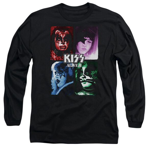 Kiss Alive Ii Cover Long Sleeve Adult T-Shirt