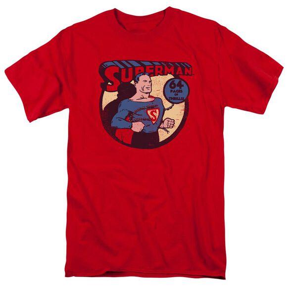 Dc Superman 64 Short Sleeve Adult T-Shirt