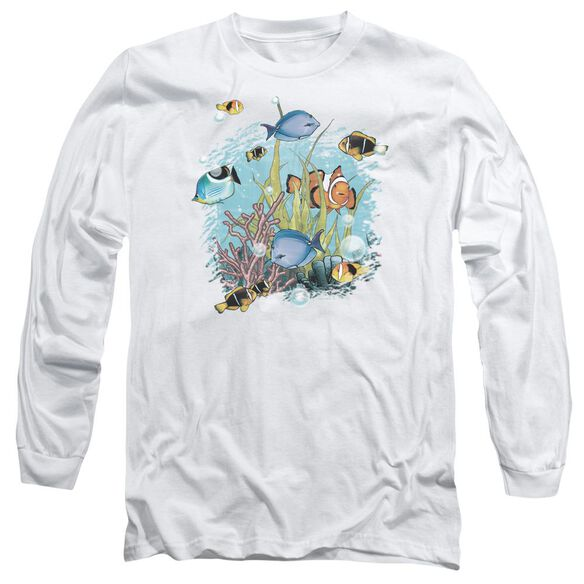 Wildlife Tropical Fish Long Sleeve Adult T-Shirt