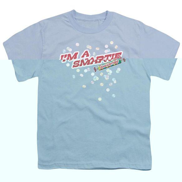 SMARTIES IM A SMARTIE - S/S YOUTH 18/1 - LIGHT BLUE T-Shirt