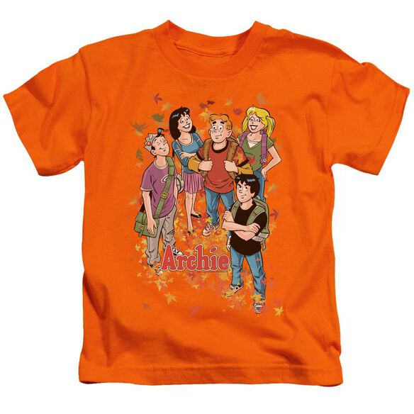 Archie Comics Colorful Short Sleeve Juvenile Orange Md T-Shirt