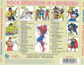 Various Artists - Spider-Man: Rock Reflections of a Superhero