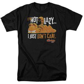 Garfield Not Lazy Short Sleeve Adult T-Shirt