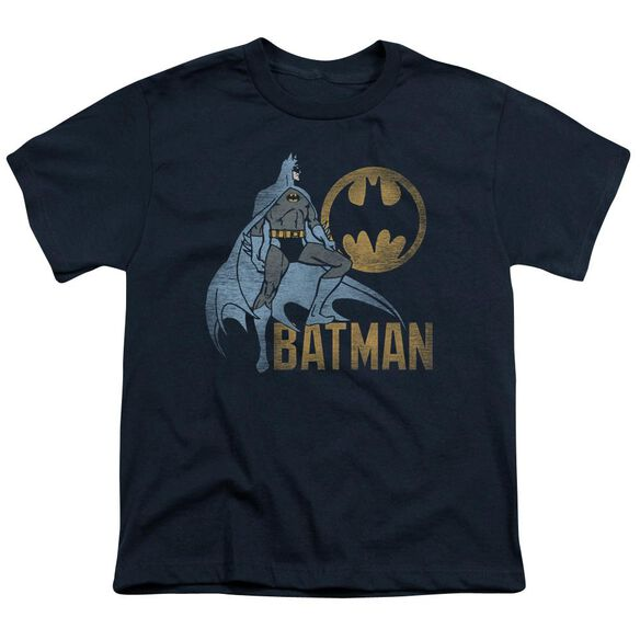 Batman Knight Watch Short Sleeve Youth T-Shirt