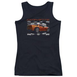 Chevrolet Orange Z06 Vette Juniors Tank Top