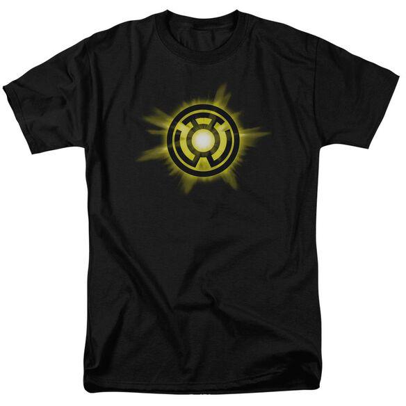 Green Lantern Yellow Glow Short Sleeve Adult T-Shirt