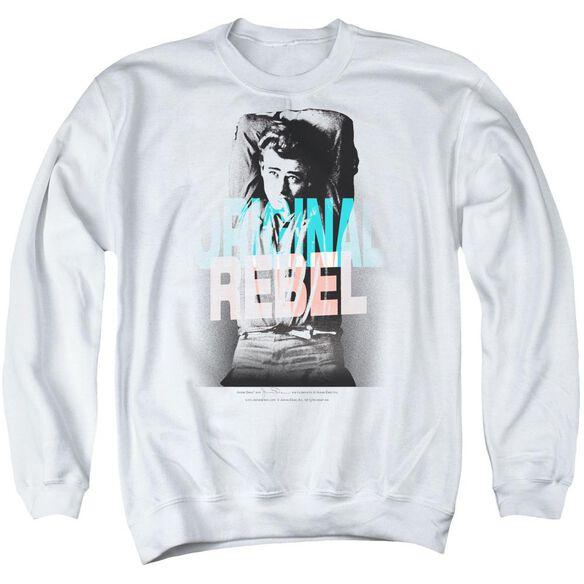 Dean Graphic Rebel Adult Crewneck Sweatshirt