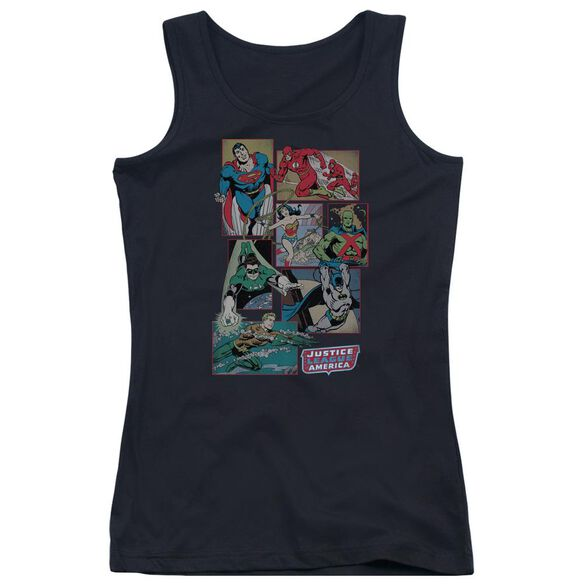 Dc Justice League Boxes Juniors Tank Top