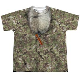 Duck Dynasty Camo Costume Short Sleeve Youth Poly Crew T-Shirt