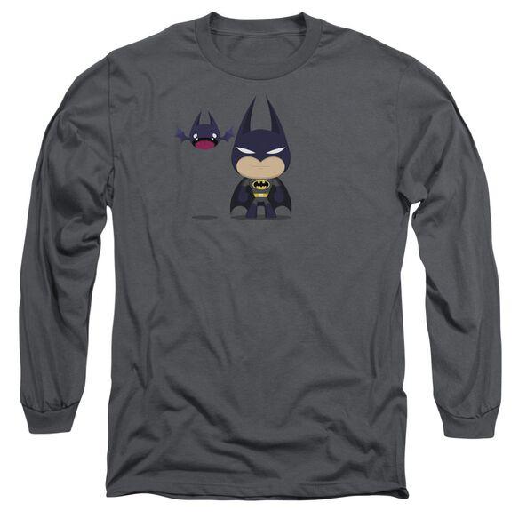 Batman Cute Batman Long Sleeve Adult T-Shirt