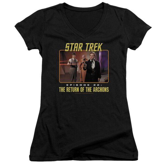 Star Trek Episode 22 Junior V Neck T-Shirt
