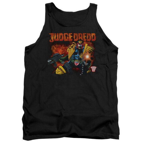 Judge Dredd Through Fire Adult Tank