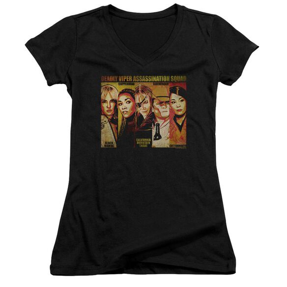 Kill Bill Deadly Viper Assassination Squad Junior V Neck T-Shirt