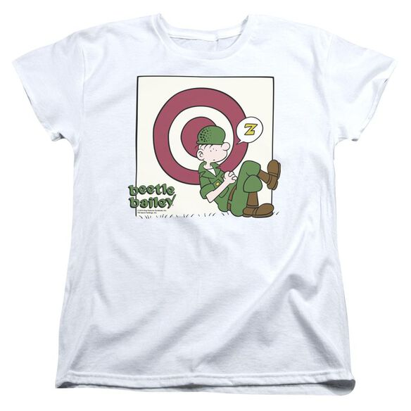Beetle Bailey Target Nap Short Sleeve Womens Tee T-Shirt