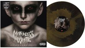 Motionless in White - Graveyard Shift [Exclusive Gold & Black Mixed Vinyl]