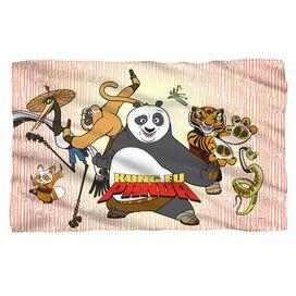 Kung Fu Panda Kung Fu Group Fleece Blanket