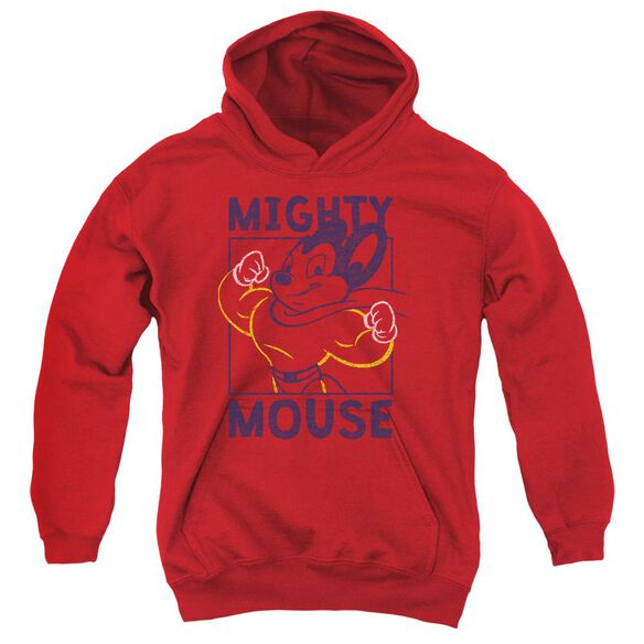 Mighy Mouse Break The Box Youth Pull Over Hoodie