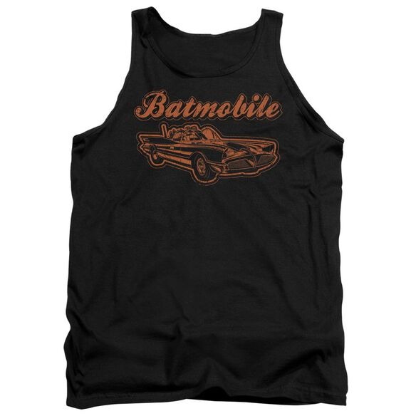 Batman Batmobile - Adult Tank - Black