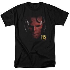 Hellboy Ii Hellboy Head Short Sleeve Adult T-Shirt
