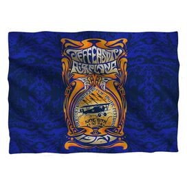Jefferson Airplane Monterey Pop Pillow Case White
