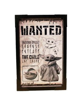 Star Wars - The Child Wanted Wall Poster