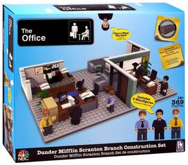 The Office Dunder Mifflin Scranton Branch Construction Set