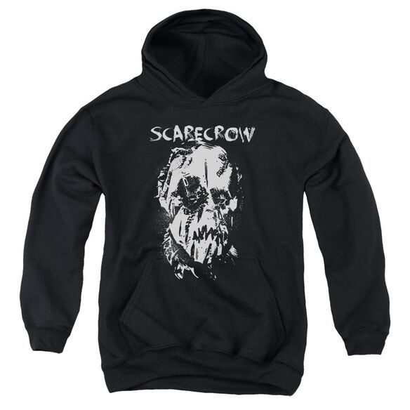 Batman Begins Scarecrow Face Youth Pull Over Hoodie