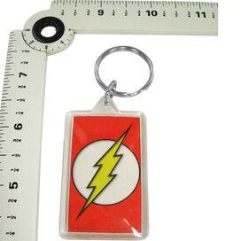 Flash Logo Lucite Keychain