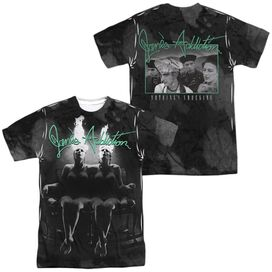 Janes Addiction Nothings Shocking (Front Back Print) Short Sleeve Adult Poly Crew T-Shirt