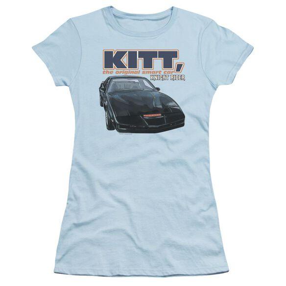Knight Rider Original Smart Car Short Sleeve Junior Sheer Light T-Shirt