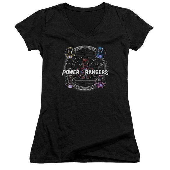 Power Rangers Greatest Glory Junior V Neck T-Shirt