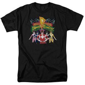 Power Rangers Rangers Unite Short Sleeve Adult T-Shirt