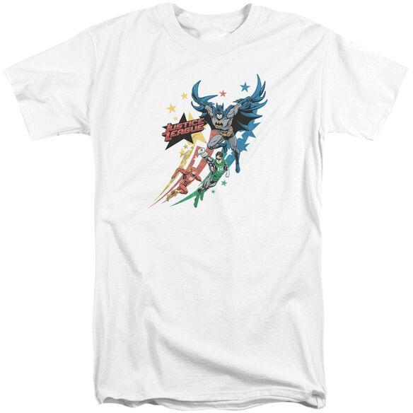 Jla Allegiance Short Sleeve Adult Tall T-Shirt