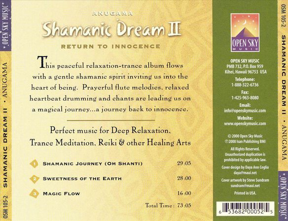 Shamanic Dream, Vol.