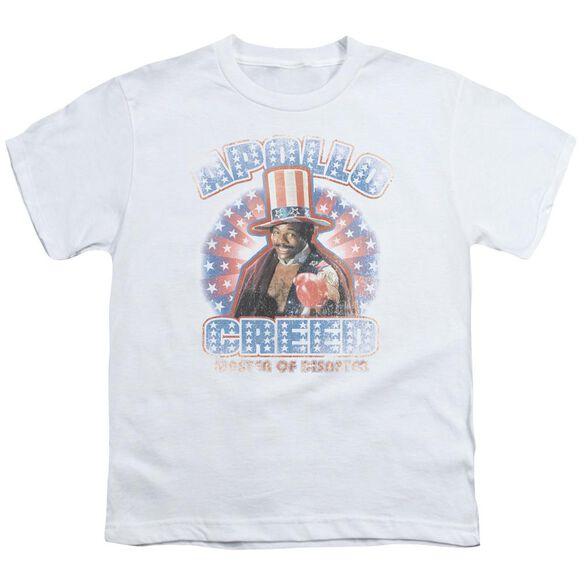 Rocky Apollo Creed Short Sleeve Youth T-Shirt