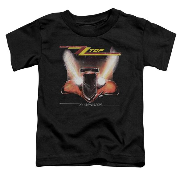 Zz Top Eliminator Cover Short Sleeve Toddler Tee Black T-Shirt