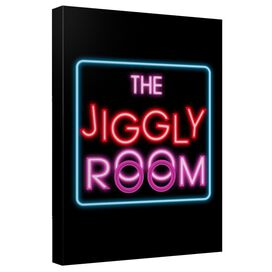 Married With Children Jiggly Room Sign Canvas Wall Art With Back Board