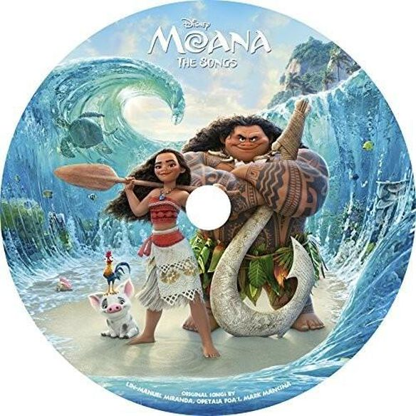 Moana (Picture Disc) / O.S.T. (Ltd) (Pict) (Uk)