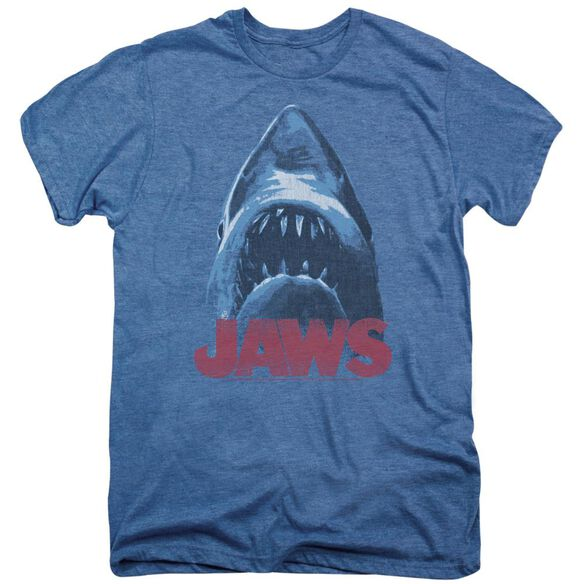 Jaws From Below Short Sleeve Adult Premium Tee Deep Sea T-Shirt