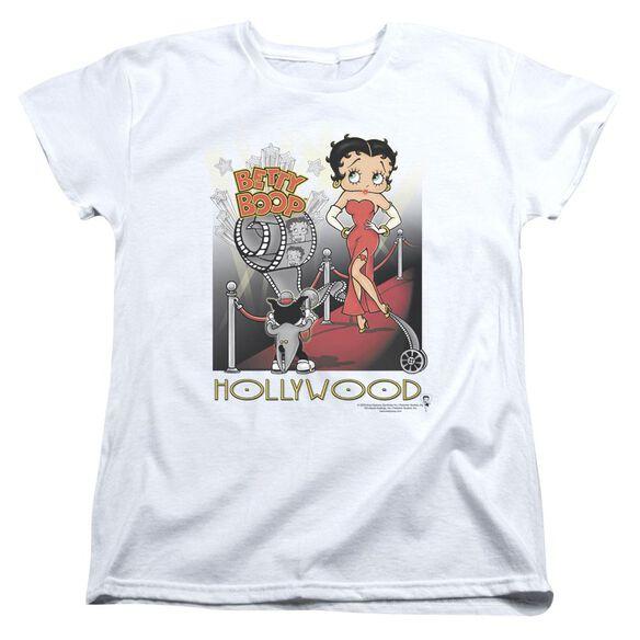 Betty Boop Hollywood Short Sleeve Womens Tee T-Shirt