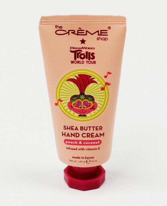 The Creme Shop Trolls World Tour Shea Butter Hand Cream [Peach & Coconut]