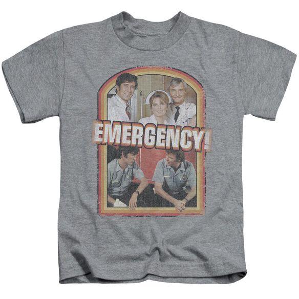 Emergency Retro Cast Short Sleeve Juvenile Athletic Heather Md T-Shirt
