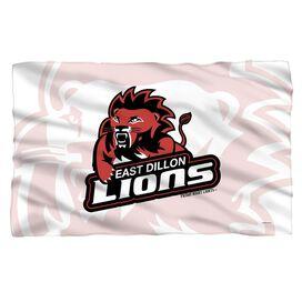 Friday Night Lights Lions Fleece Blanket