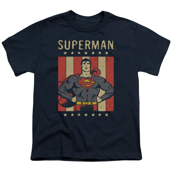Dc Retro Liberty Short Sleeve Youth T-Shirt