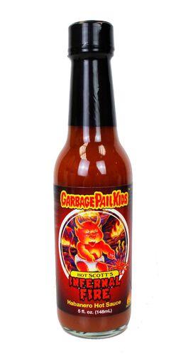 Garbage Pail Kids - Hot Scott's Infernal Fire Hot Sauce