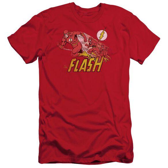 DC FLASH CRIMSON COMET - S/S ADULT 30/1 - RED T-Shirt