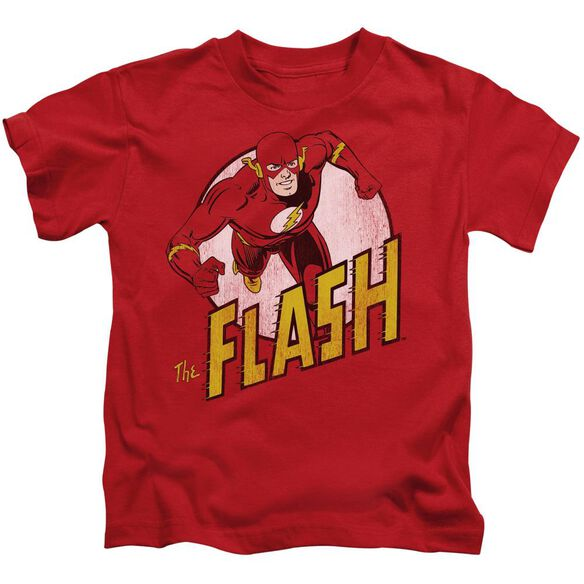 Dc Flash The Flash Short Sleeve Juvenile Red T-Shirt