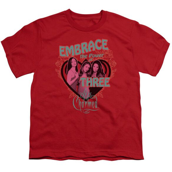 Charmed Embrace The Power Short Sleeve Youth T-Shirt