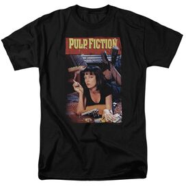 Pulp Fiction Poster Short Sleeve Adult T-Shirt